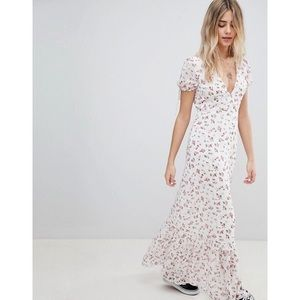 EMORY PARK MAXI TEA DRESS IN VINTAGE FLORAL